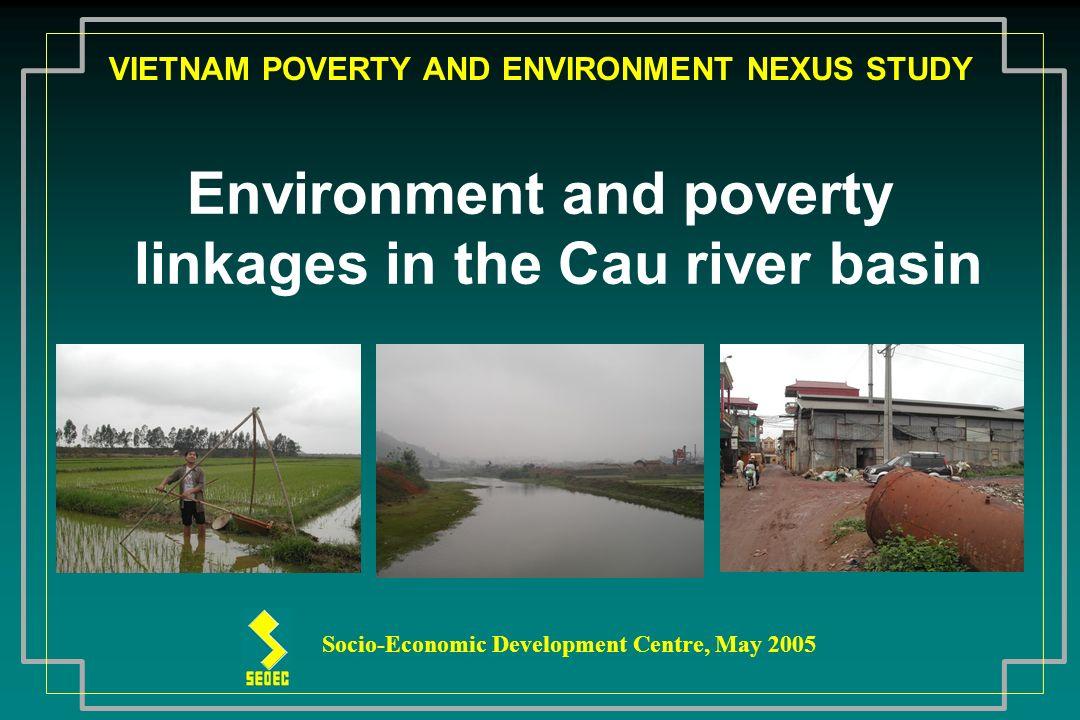 The main stream of Cau river has length of 288 km and basin area of 6030 km2.