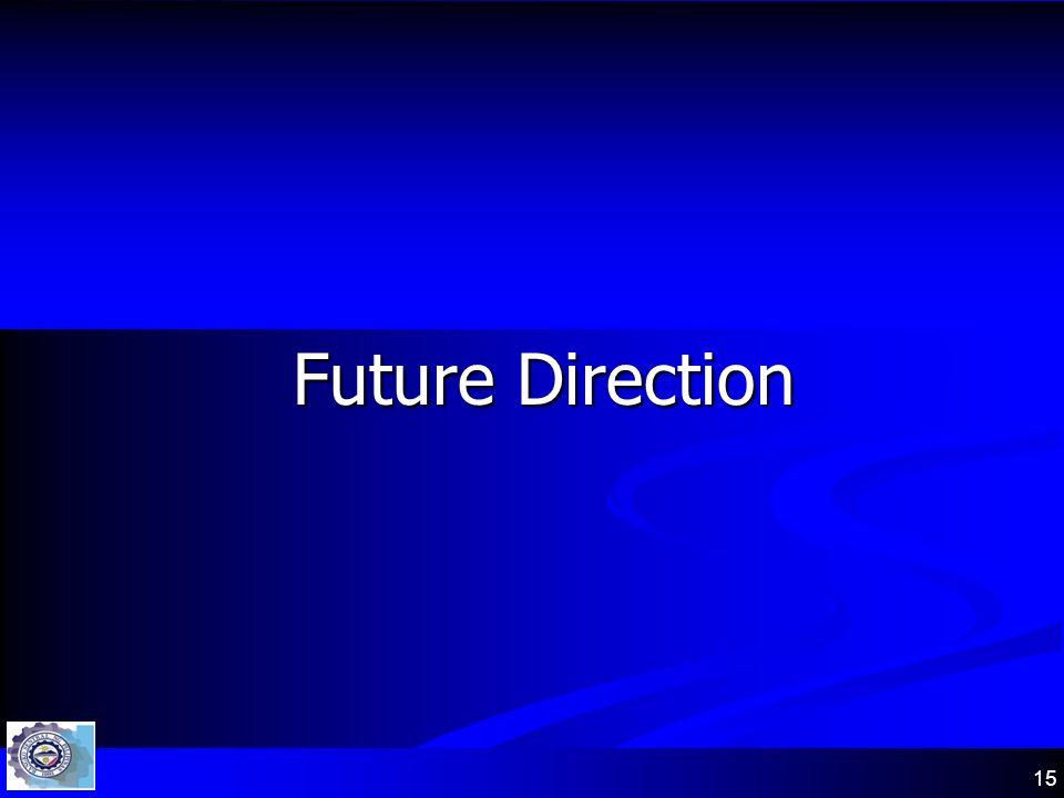 15 Future Direction