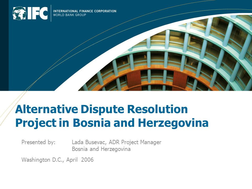2 IFC PEP SE background IFC: Active portfolio in the country, $106m invested IFC PEP SE – Private Enterprise Partnership Southeast Europe Established on July 1, 2005 IFC managed two large TA programs in the Balkans: SEED and PEPSE Mandate: strengthen the private sectors in the Balkans (Albania, Bosnia and Herzegovina, Macedonia and Serbia and Montenegro) PEP SE projects in the areas of: Access to Finance Business Enabling Environment and Access to Markets Supply Chain Linkages Pipeline: Housing Finance, Microfinance, Registration