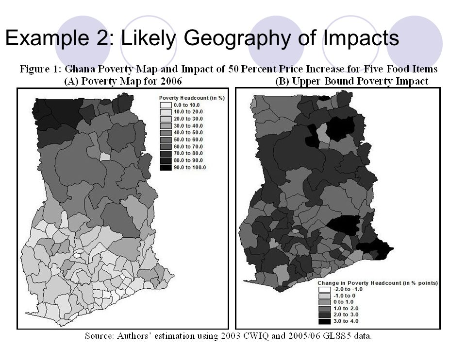 Example 2: Likely Geography of Impacts