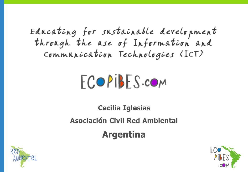 Cecilia Iglesias Asociación Civil Red Ambiental Argentina