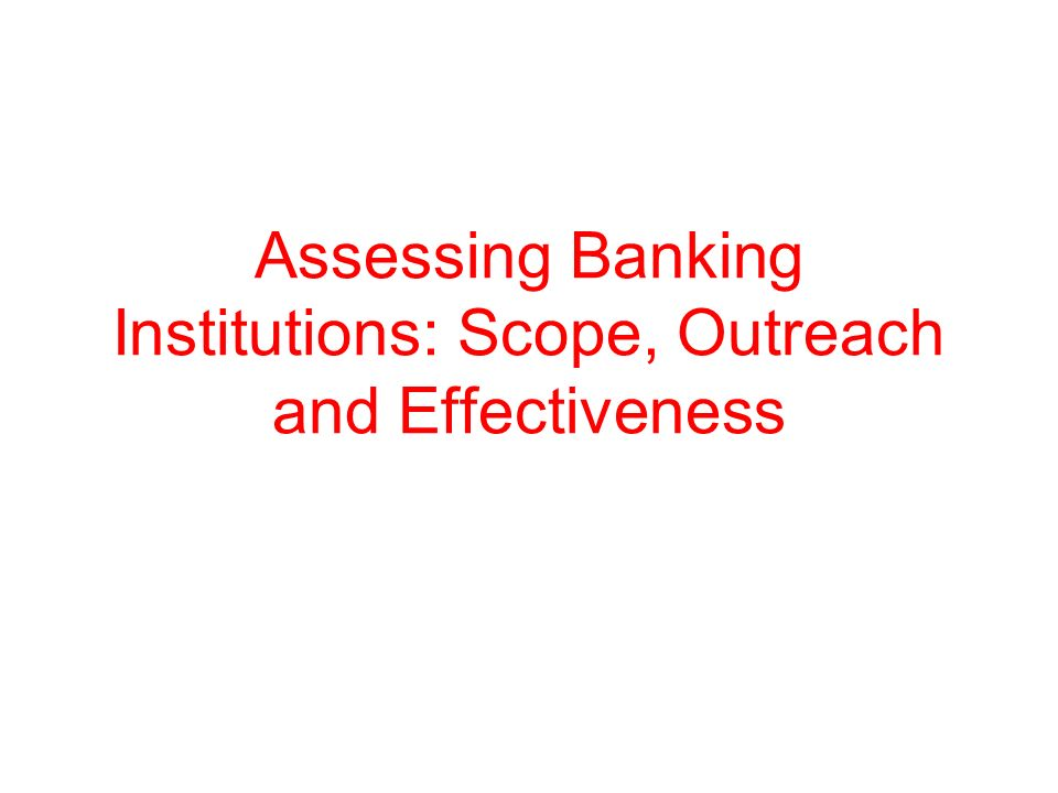 Competitiveness and market structure Problems of market structure indicators: –Market structure does not capture contestability Entry restrictions Activity restrictions History of rejections of license applications –Ownership structure important determinant of competitiveness: Entry and presence of foreign banks Dominant role of government banks