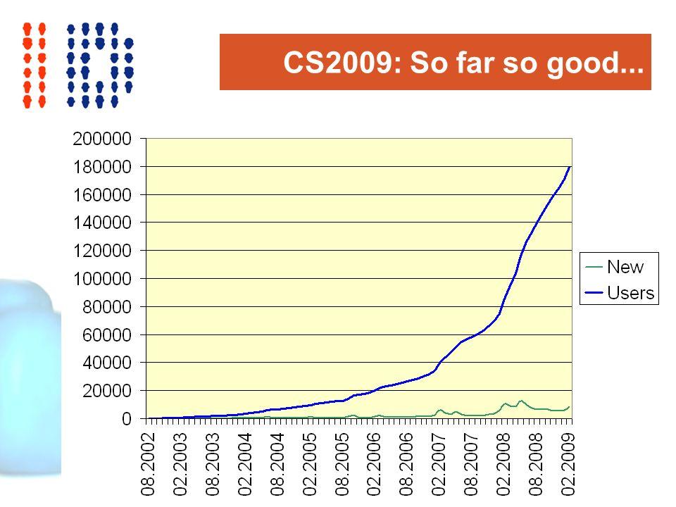 CS2009: So far so good...