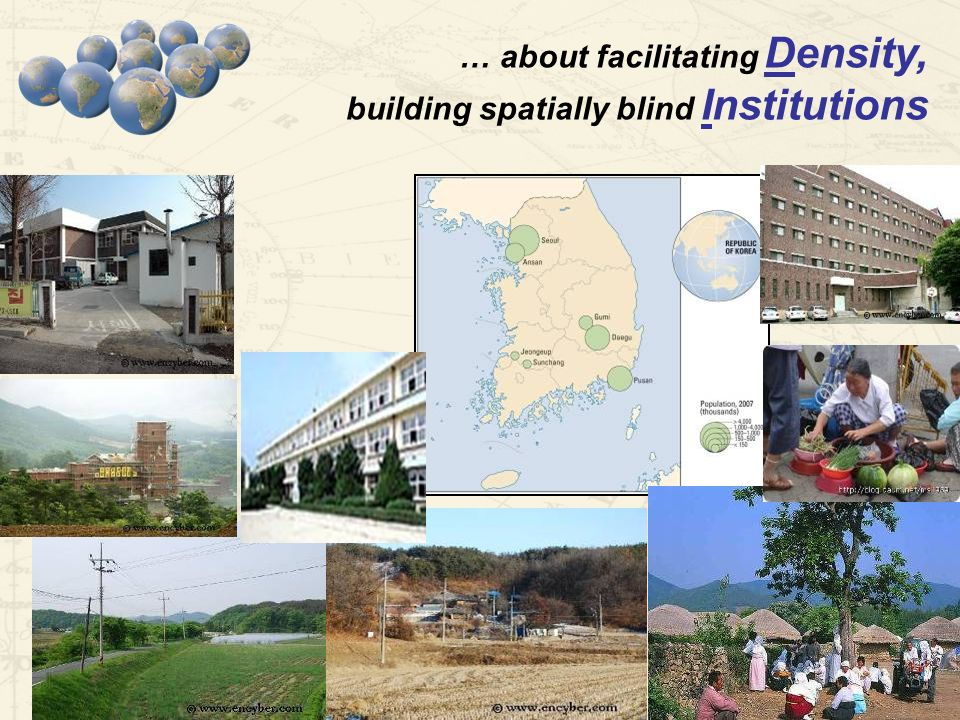 WDR Conference in Central Asia, February … about facilitating Density, building spatially blind Institutions