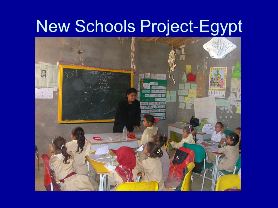 New Schools Project-Egypt
