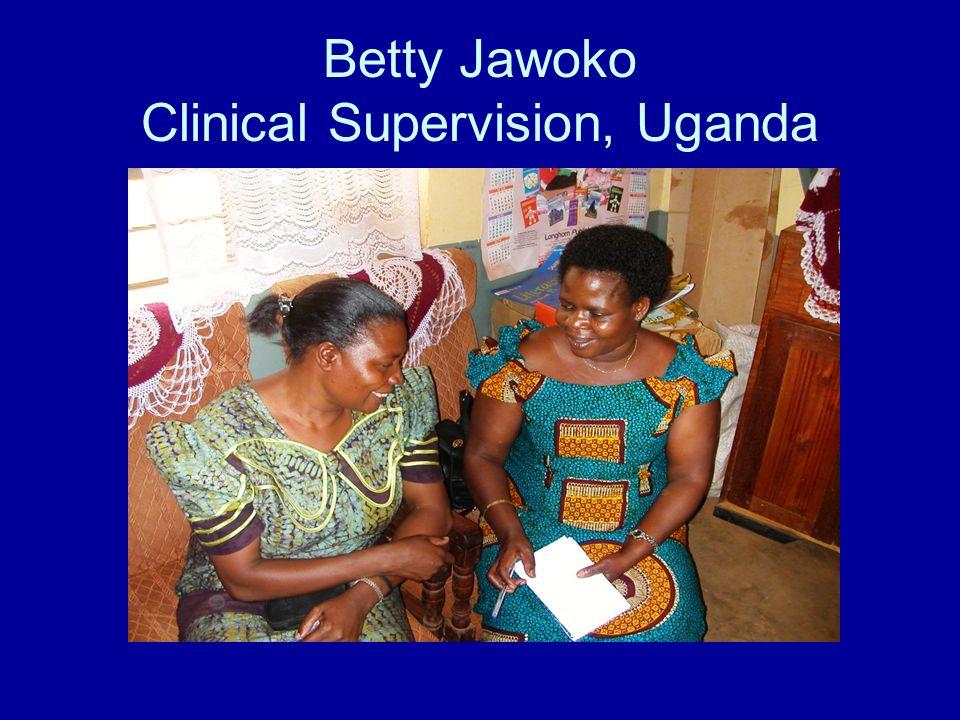 Betty Jawoko Clinical Supervision, Uganda