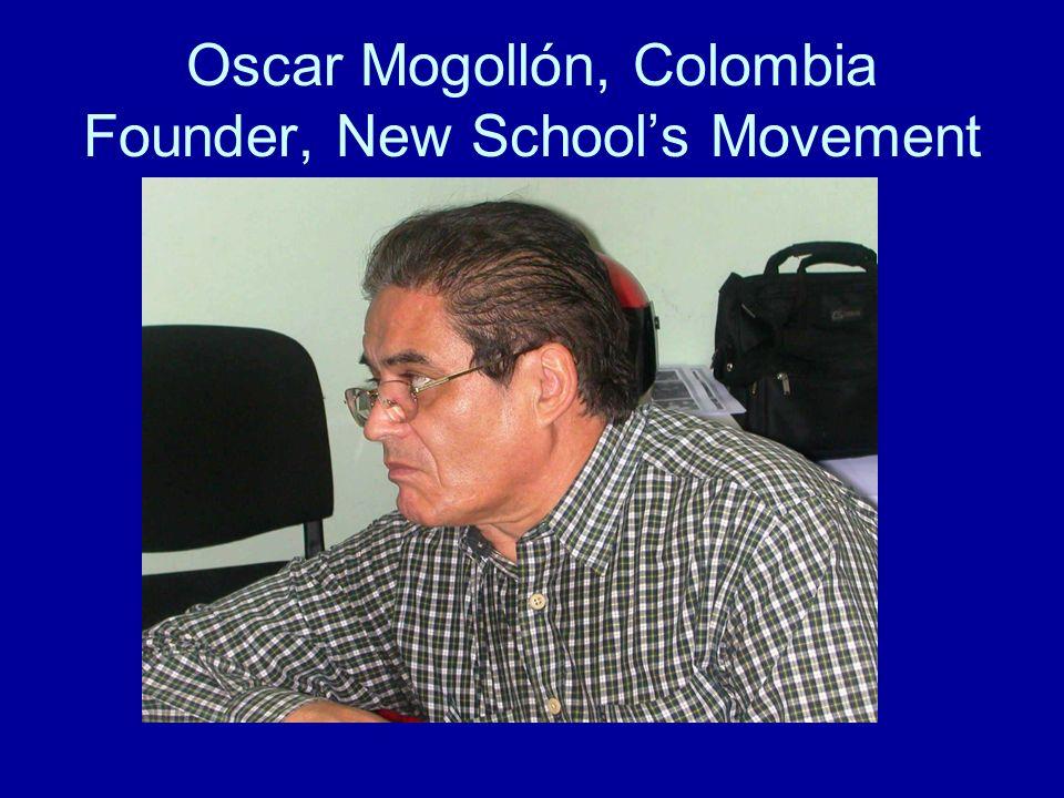 Oscar Mogollón, Colombia Founder, New Schools Movement