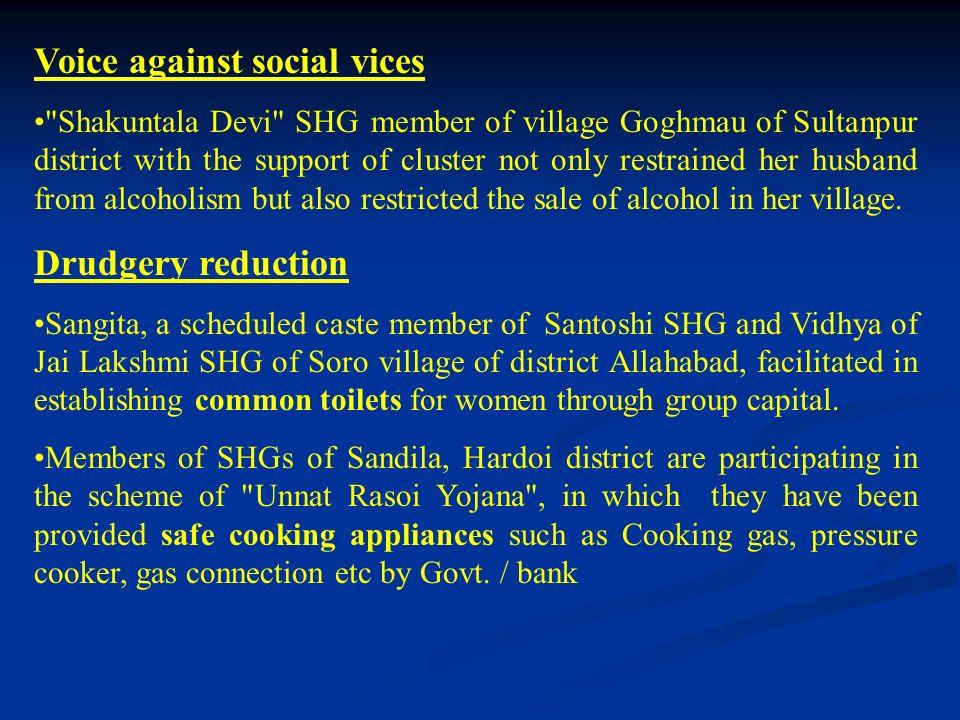 Voice against social vices