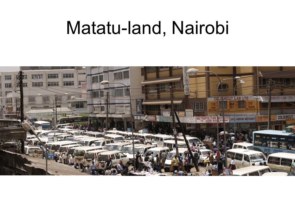 Matatu-land, Nairobi