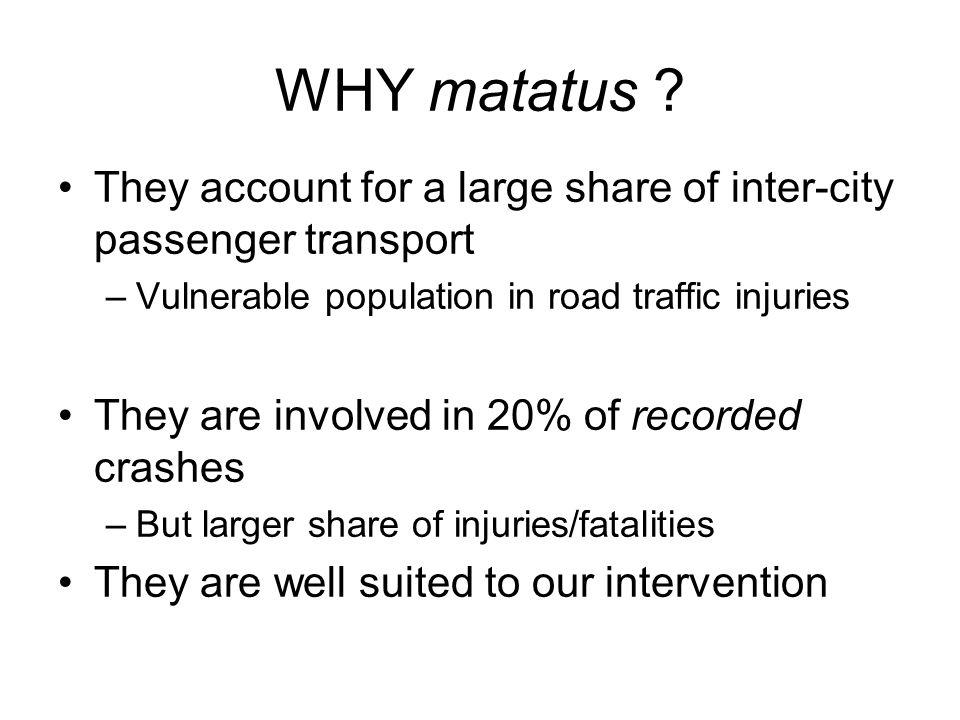 WHY matatus .