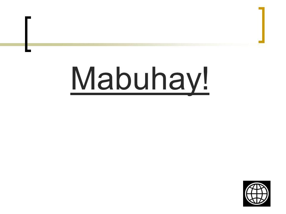 Mabuhay!