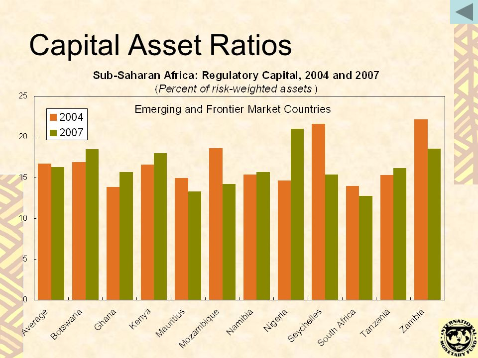 Capital Asset Ratios