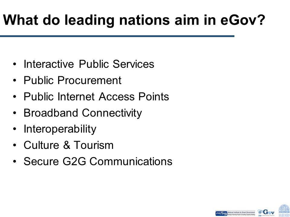 Principle # 3 e-Government requires us to overcome A Number of Challenges