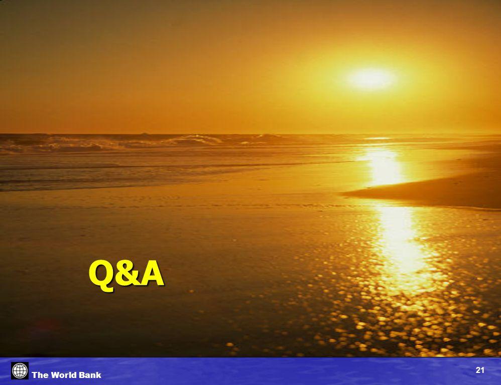 21 The World Bank Q&A