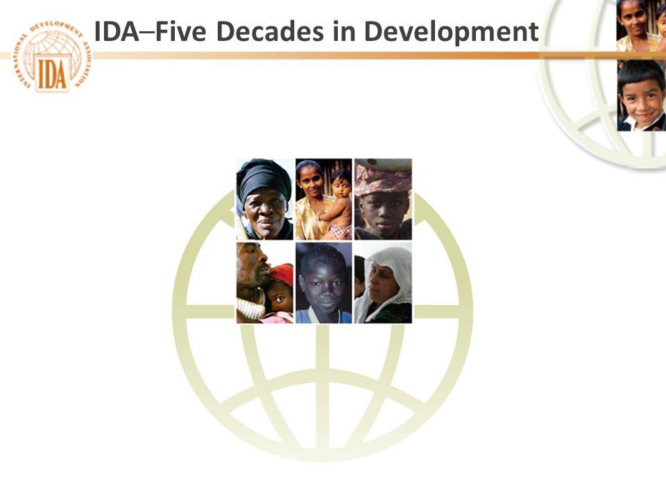 IDA–Five Decades in Development