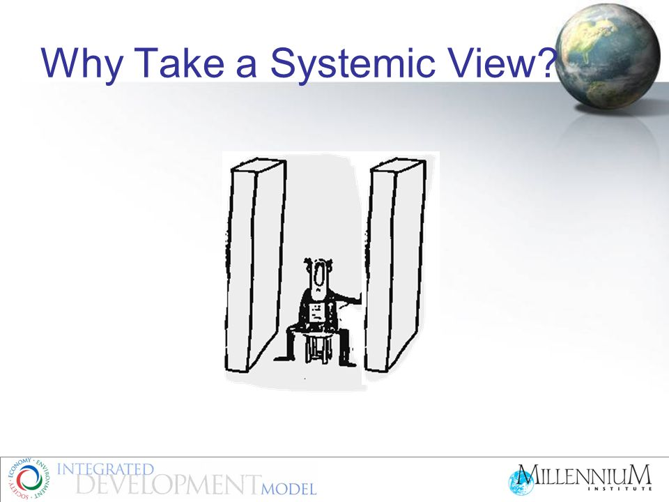 Why Take a Systemic View