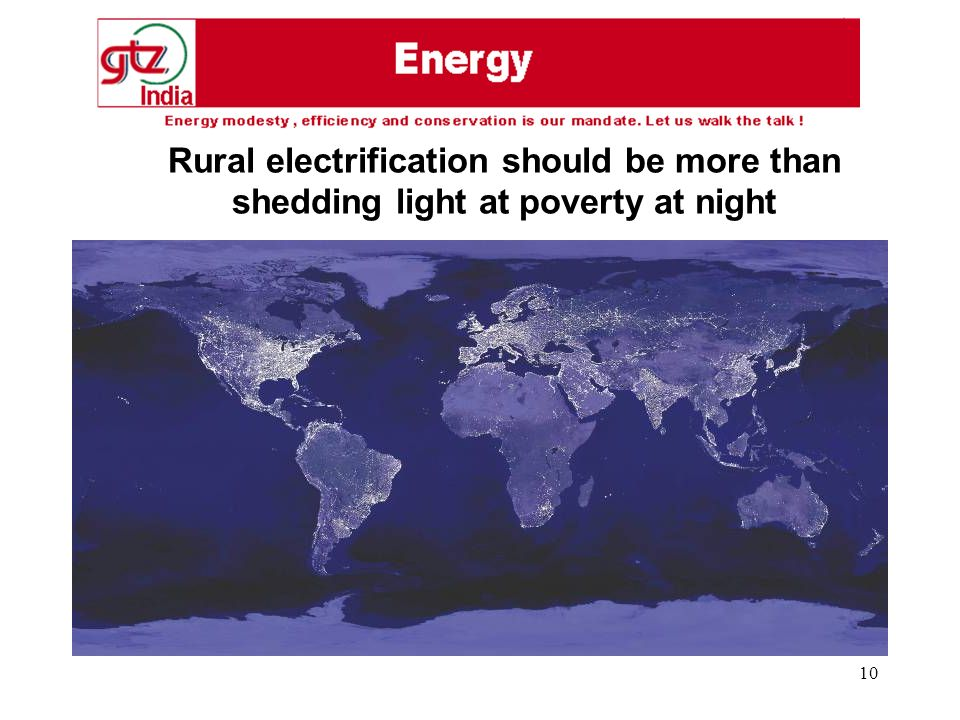 10 Rural electrification should be more than shedding light at poverty at night