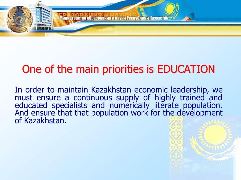Identifying priorities Development of heavy industry.