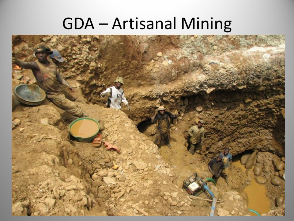 GDA – Artisanal Mining