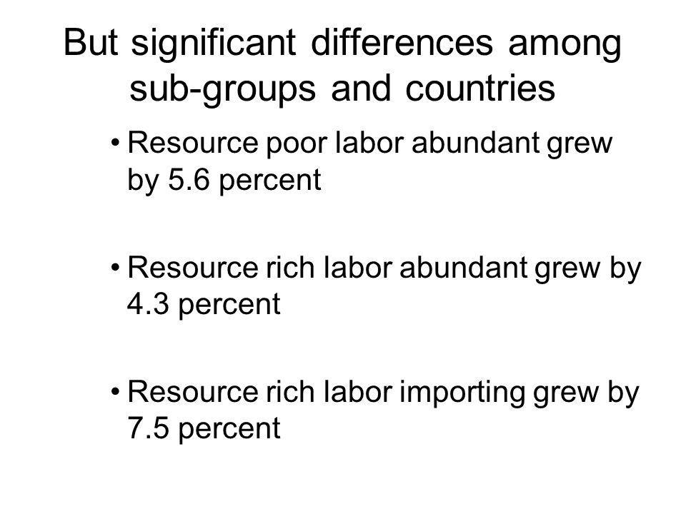 Regional growth steps up to 6.3% in 2006 Source: National Agencies and World Bank.
