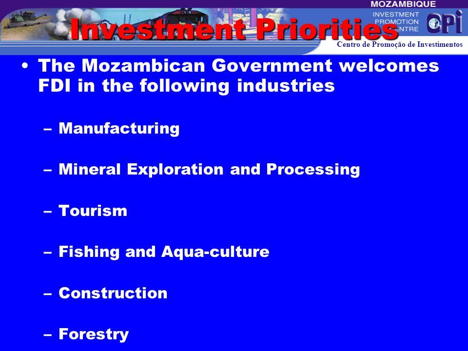 Centro de Promoção de Investimentos DYNAMIC OF FDI