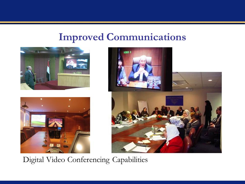 Improved Communications Digital Video Conferencing Capabilities