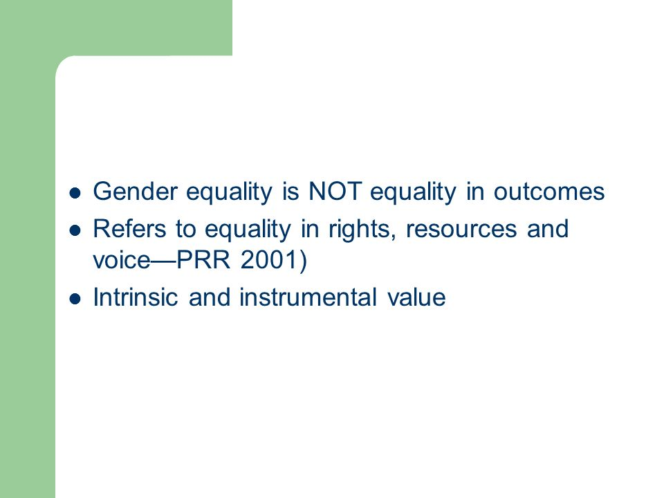 Outline Theoretical framework: why might we expect gender equality to promote shared growth.