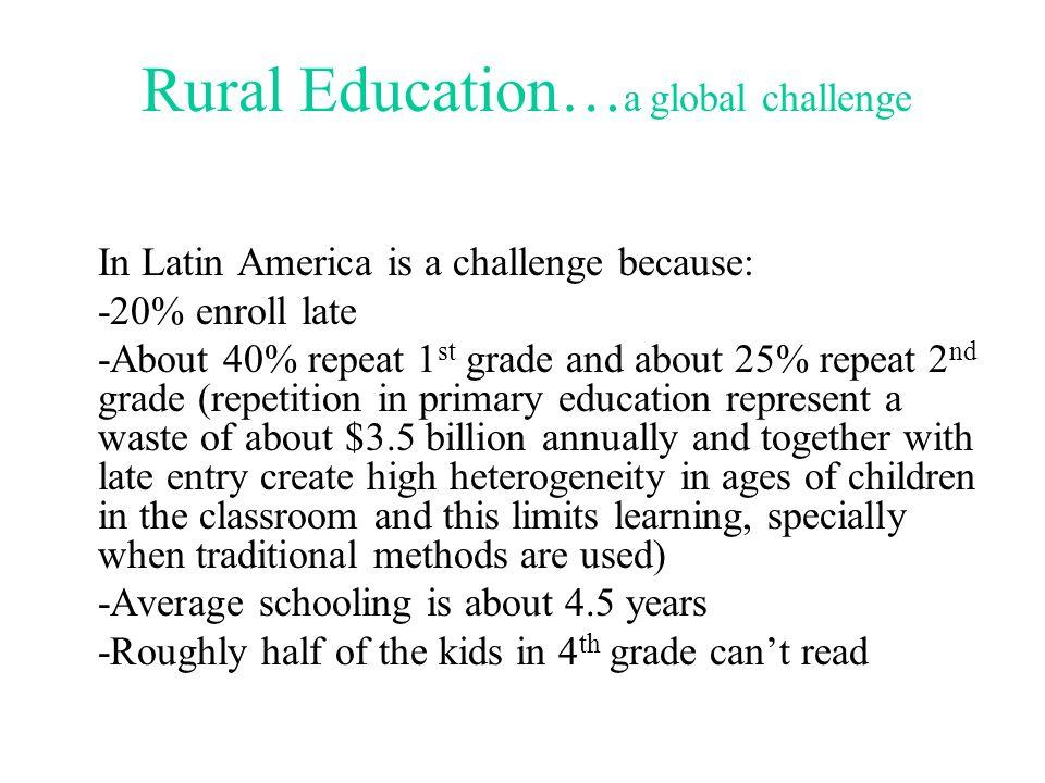 Multi-grade Teaching: The Latin American Experience South Asia Regional Conference on Education Quality New Delhi, India October 24-26, 2007 Eduardo V