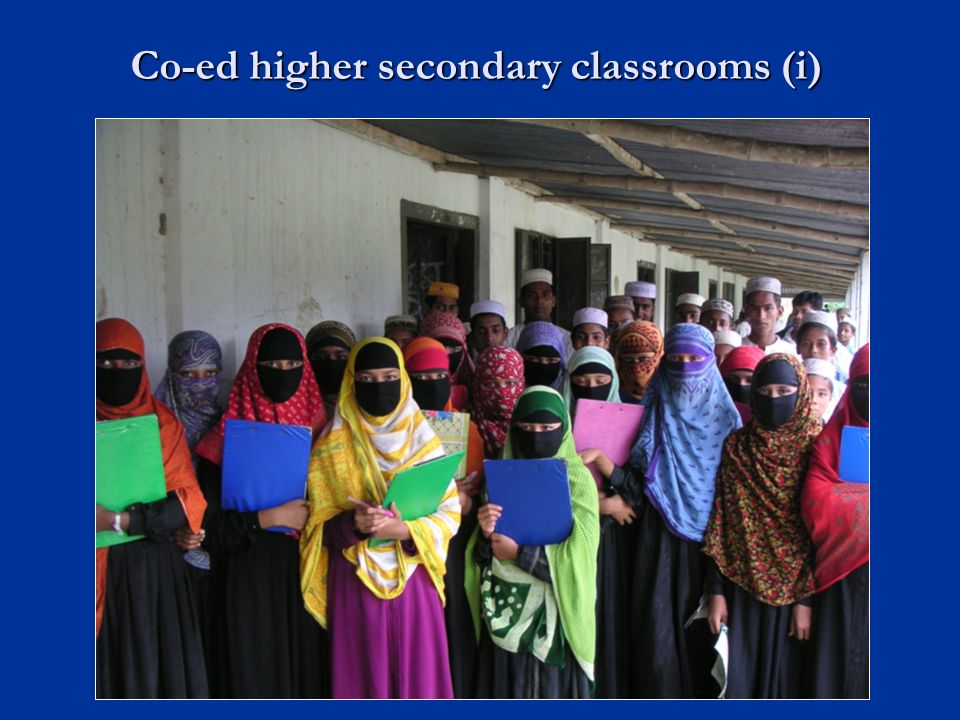Co-ed higher secondary classrooms (i)
