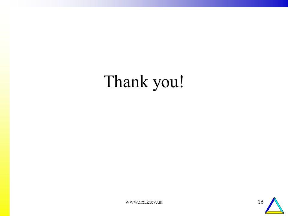 www.ier.kiev.ua16 Thank you!
