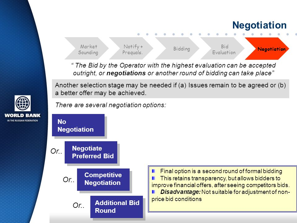 Negotiation Process Negotiation is a process, not an event.