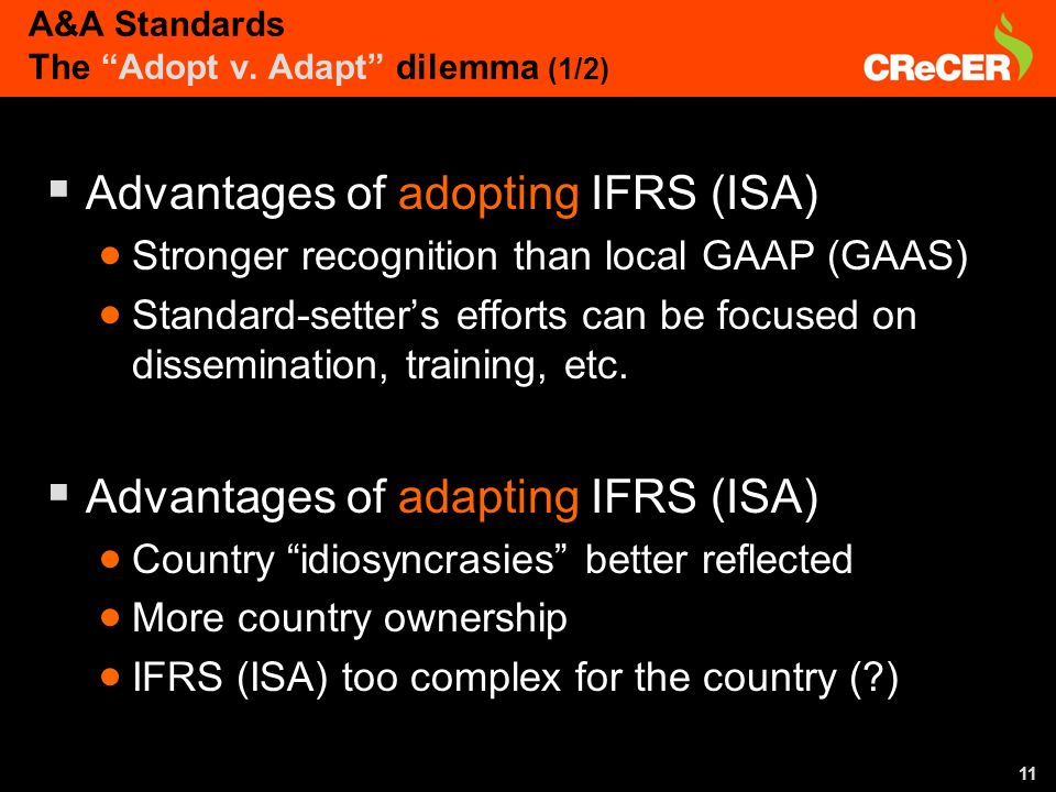 11 A&A Standards The Adopt v.