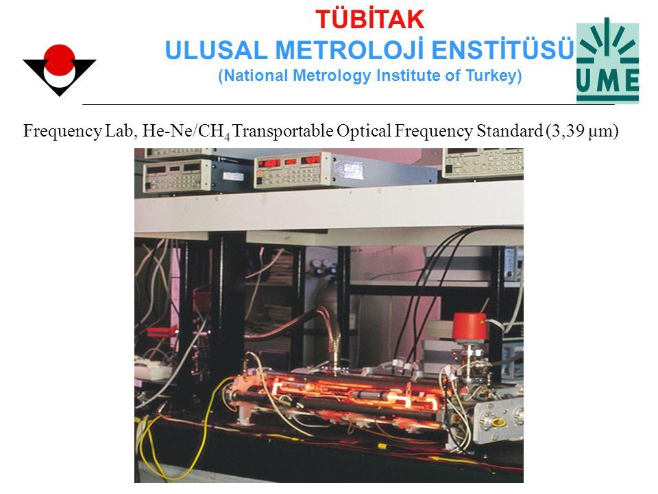 TÜBİTAK ULUSAL METROLOJİ ENSTİTÜSÜ (National Metrology Institute of Turkey) Frequency Lab, He-Ne/CH 4 Transportable Optical Frequency Standard (3,39 μ