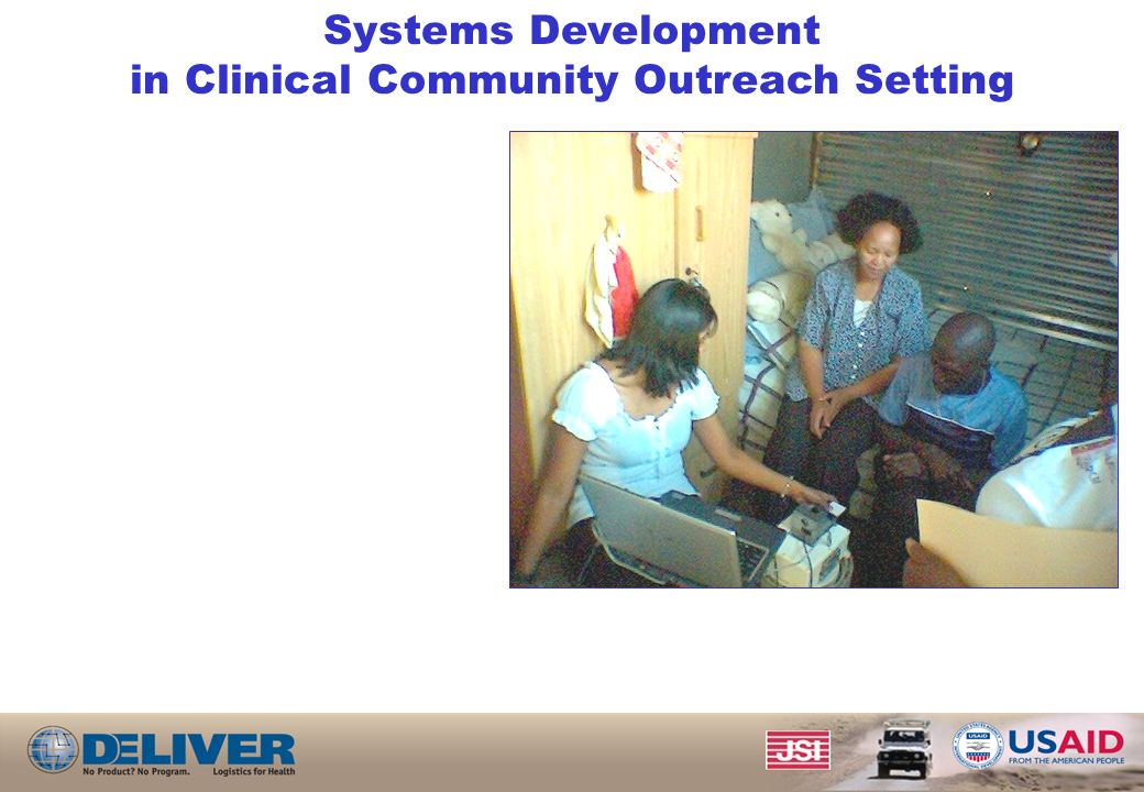 Systems Development in Clinical Community Outreach Setting