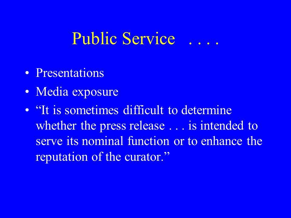 Public Service....
