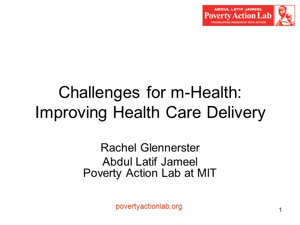 2 Two part challenge of health care delivery