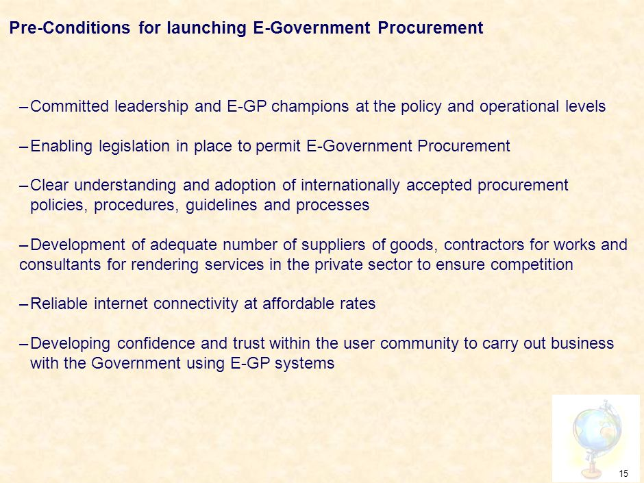 14 How E-GP helps reduce Corruption…contd..