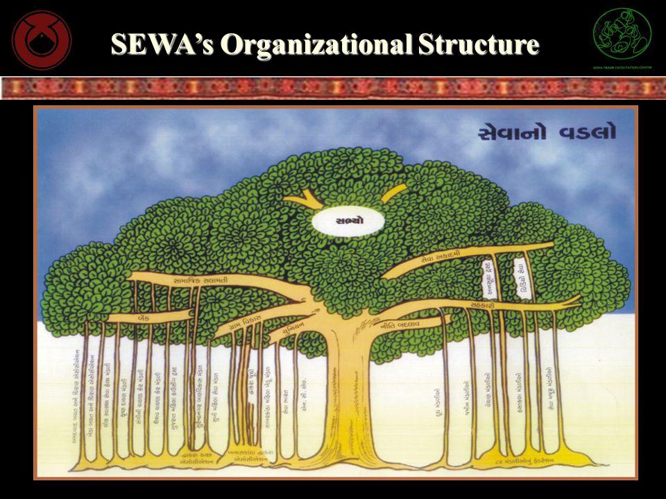 SEWAs Organizational Structure