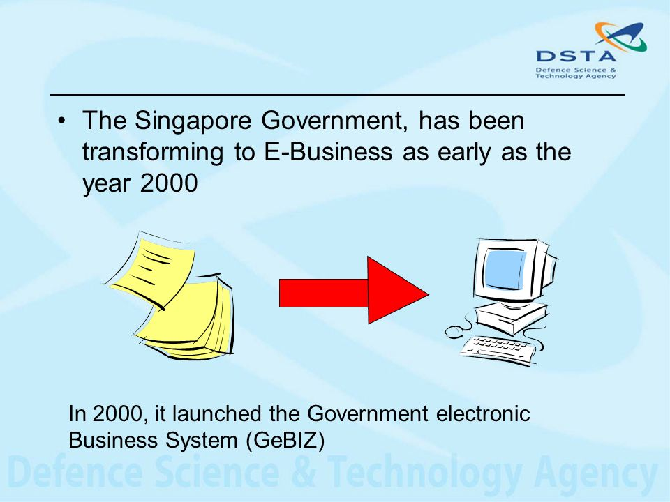 Conclusion GeBIZ will continue to be the means for Singapore to explore new business model and processes enabled by technology.