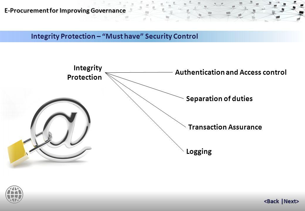 E-Procurement for Improving Governance Public Key Infrastructure