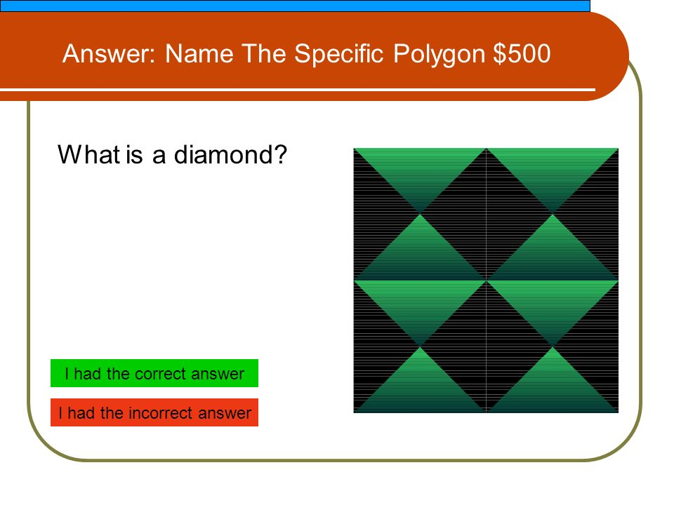 What is a diamond.