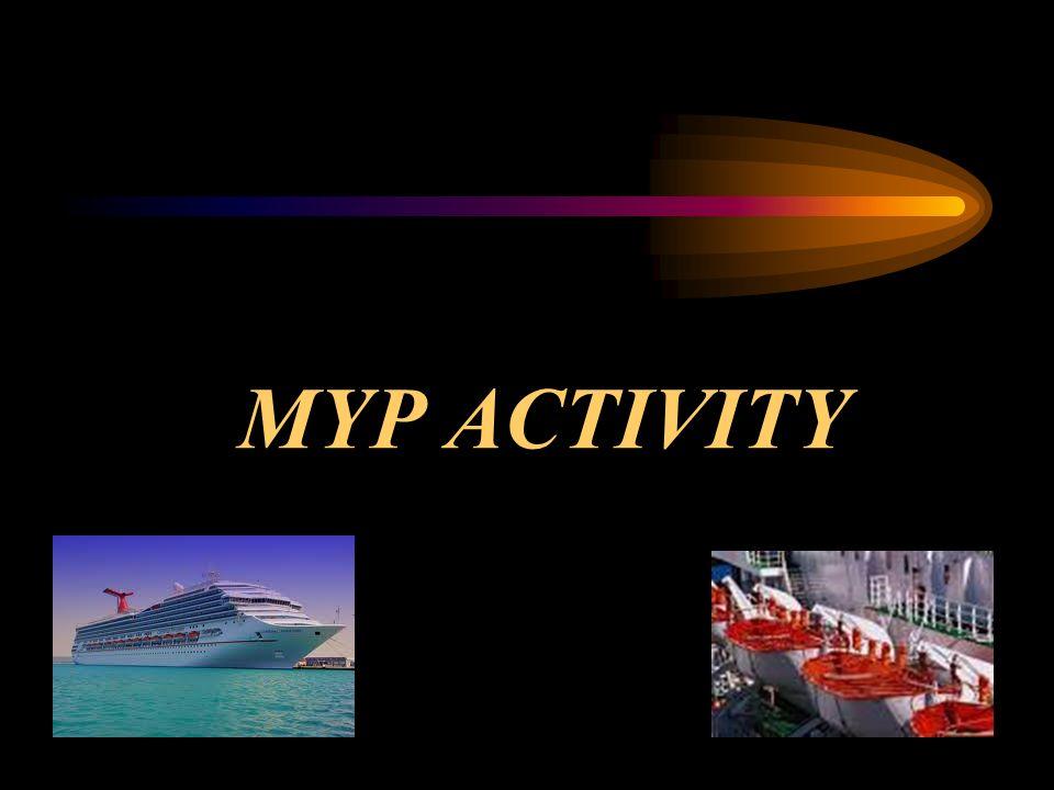 MYP ACTIVITY