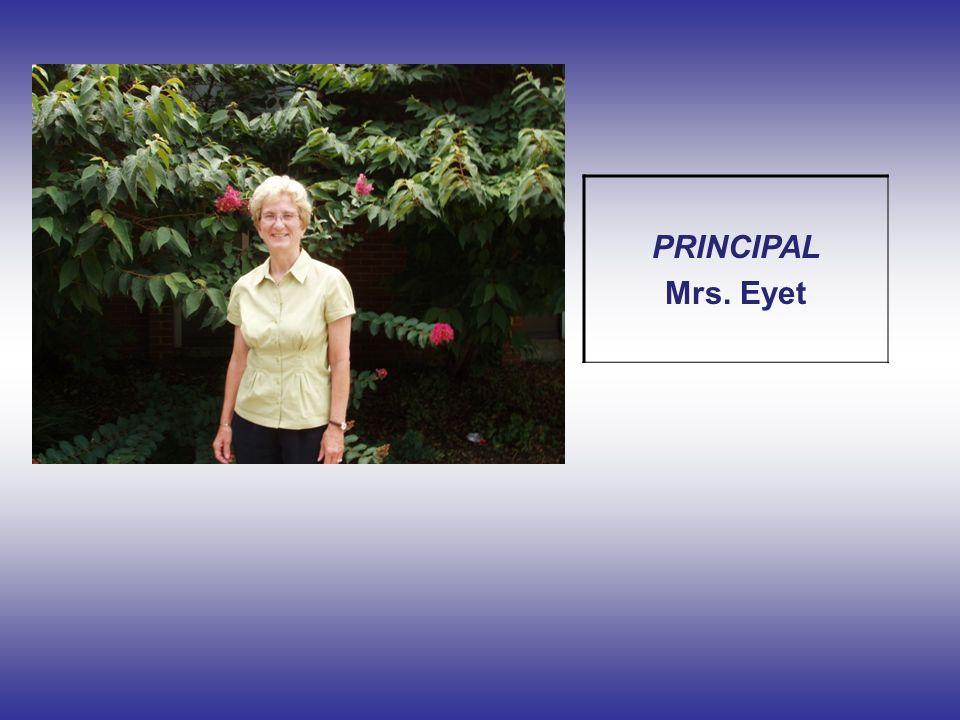 PRINCIPAL Mrs. Eyet