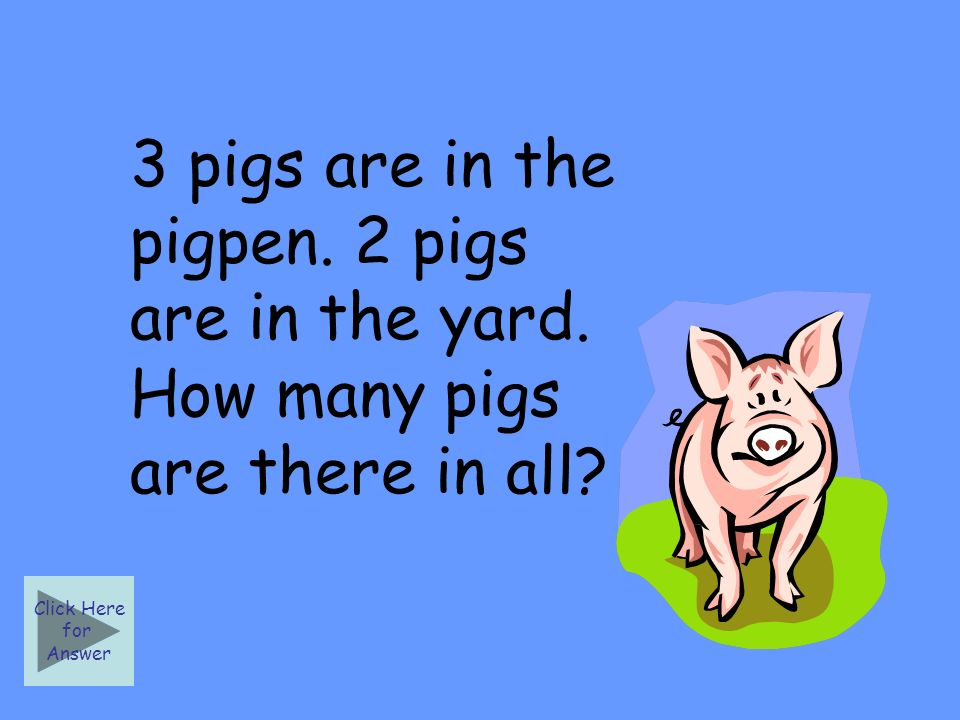 3 pigs are in the pigpen. 2 pigs are in the yard.