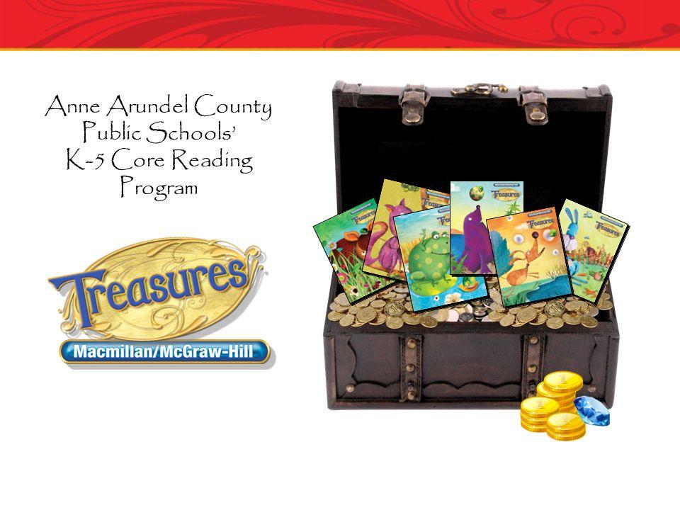 Anne Arundel County Public Schools K-5 Core Reading Program