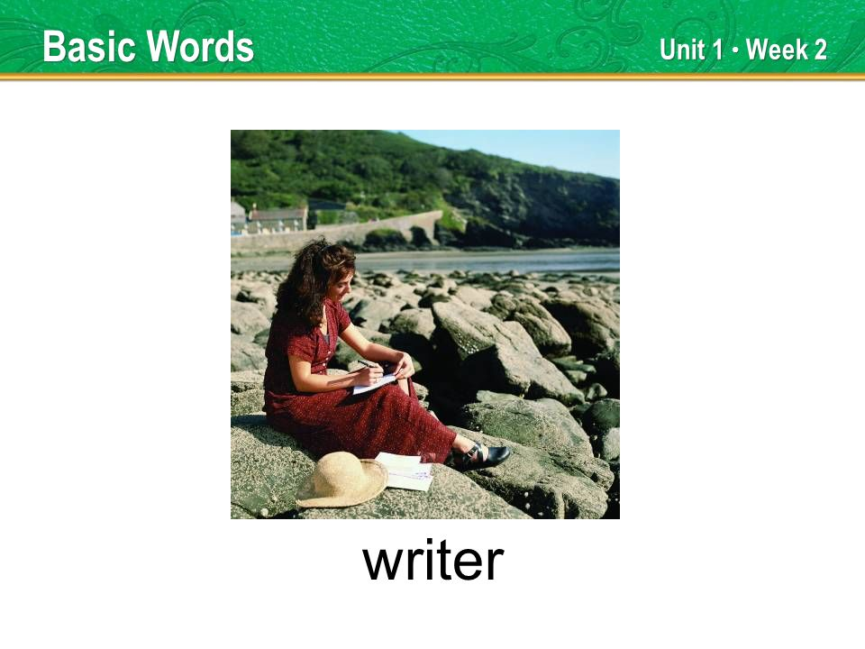 Unit 1 Week 2 writer Basic Words