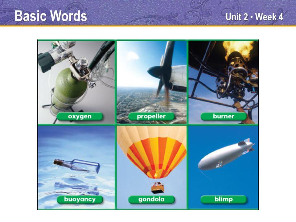 Unit 2 Week 4 Basic Words