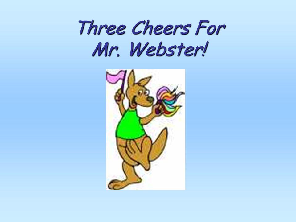Why We Need Mr. Websters Book Word Spellings Pronunciations Word Meanings Word Origins For Life Long Learning