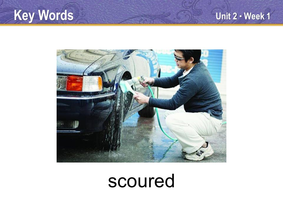 Unit 2 Week 1 scoured Key Words
