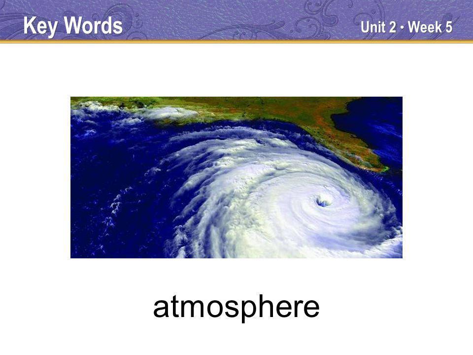 Unit 2 Week 5 atmosphere Key Words
